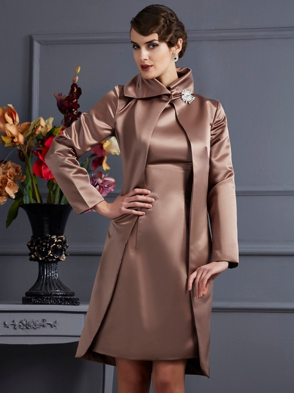 Long Sleeves Satin Special Occasion Wrap
